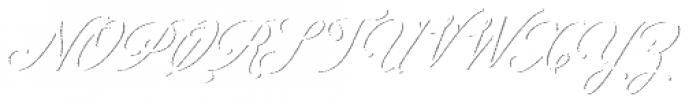 Colesberg Script Shadow Font UPPERCASE