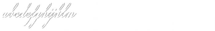 Colesberg Script Shadow Font LOWERCASE