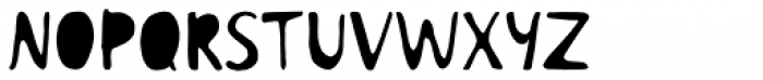 Colette Filled Font UPPERCASE