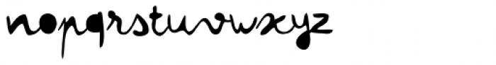 Colette Filled Font LOWERCASE