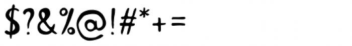 Colette Regular Font OTHER CHARS