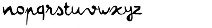 Colette Regular Font LOWERCASE