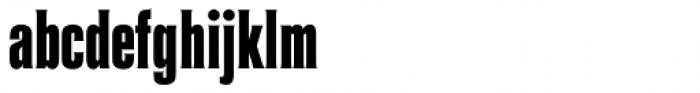 Coliseum Pro ExtraBold Font LOWERCASE