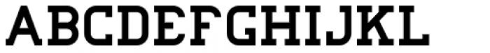College Grad Regular Font LOWERCASE