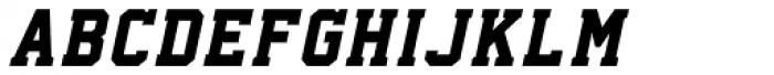 Collegium Italic Font UPPERCASE