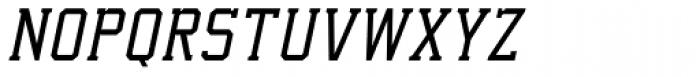 Collegium Thin Italic Font UPPERCASE