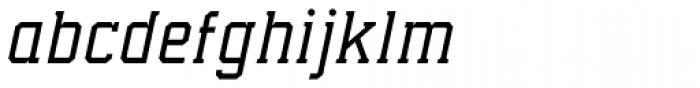Collegium Thin Italic Font LOWERCASE