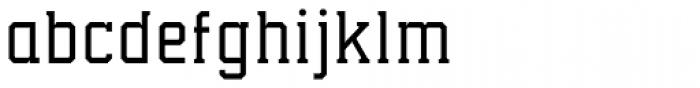 Collegium Thin Font LOWERCASE