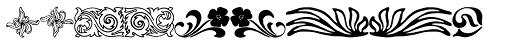Collins Florets XYR Font OTHER CHARS