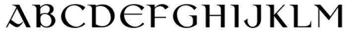 Colmcille MT Font UPPERCASE