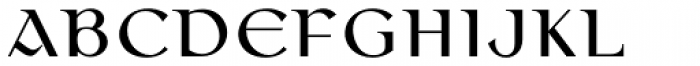 Colmcille Pro Regular Font UPPERCASE