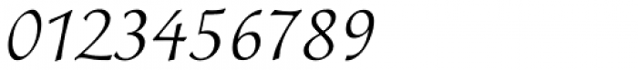 Colombine Std Light Font OTHER CHARS