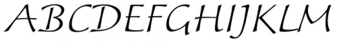Colombine Std Light Font UPPERCASE