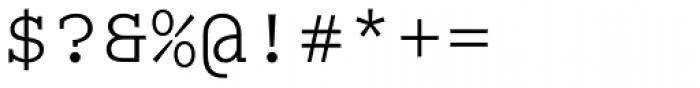 Colon Mono Alt Light Font OTHER CHARS