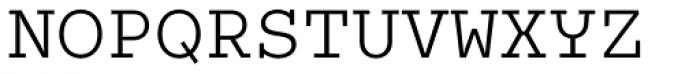 Colon Mono Alt Light Font UPPERCASE