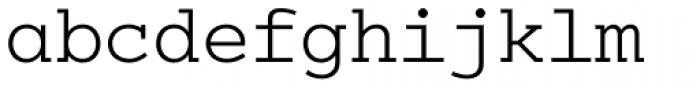 Colon Mono Alt Light Font LOWERCASE