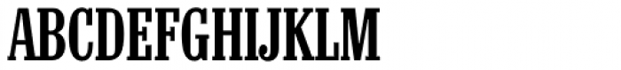 Colonel Serial Medium Font UPPERCASE