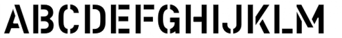 Colonel Font UPPERCASE