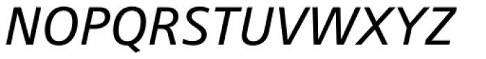 Colophon Medium Italic Font UPPERCASE