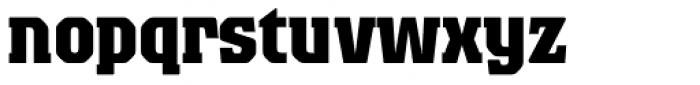 Colossalis BQ Bold Font LOWERCASE