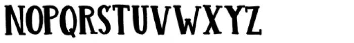 Colporteur Fat Regular Font UPPERCASE