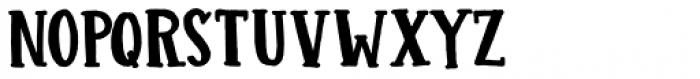 Colporteur Fat Regular Font LOWERCASE
