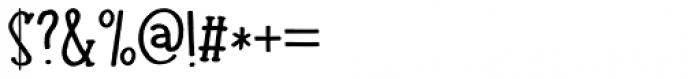 Colporteur Narrow Regular Font OTHER CHARS