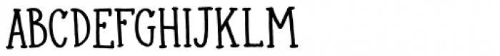 Colporteur Narrow Regular Font UPPERCASE