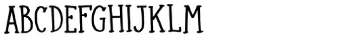 Colporteur Narrow Regular Font LOWERCASE