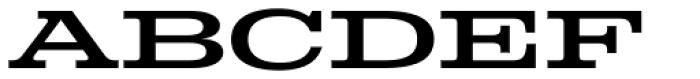 Colt Font LOWERCASE