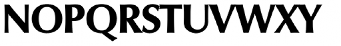 Columbia Serial ExtraBold Font UPPERCASE