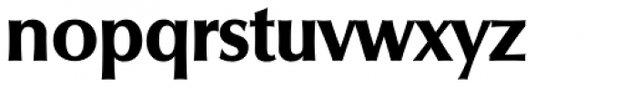 Columbia Serial ExtraBold Font LOWERCASE