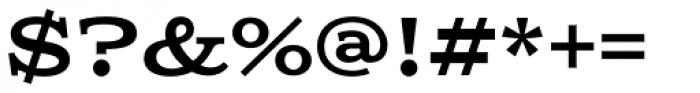 Columbia Titling Medium Font OTHER CHARS