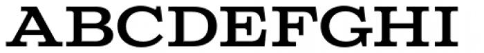Columbia Titling Medium Font LOWERCASE