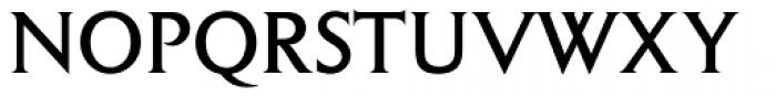 Columna Solid D Font UPPERCASE