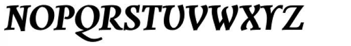Combi Italic Bold Font UPPERCASE