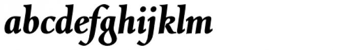 Combi Italic Bold Font LOWERCASE