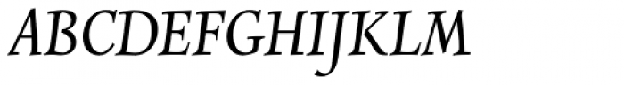 Combi Italic Book Font UPPERCASE