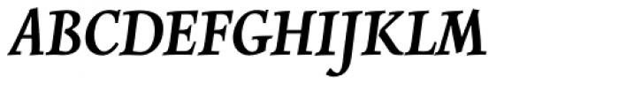 Combi Italic SemiBold Font UPPERCASE