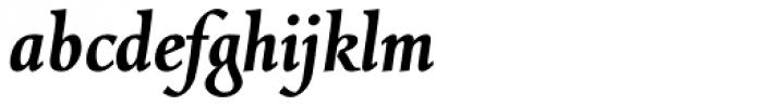 Combi Italic SemiBold Font LOWERCASE