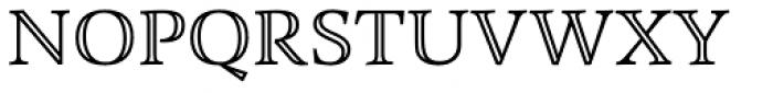 Combi Open Font UPPERCASE