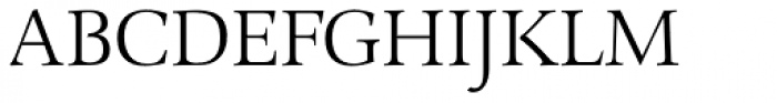 Combi Serif Light Font UPPERCASE