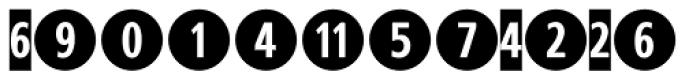 CombiNumerals Pro Bold Font LOWERCASE