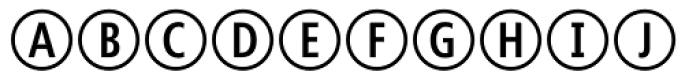 CombiNumerals Pro Font UPPERCASE