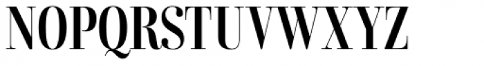 Combinado Serif Regular Font UPPERCASE