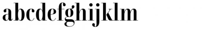 Combinado Serif Regular Font LOWERCASE