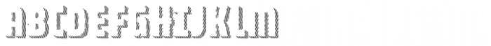 Combine Caps Shadow1 Font UPPERCASE
