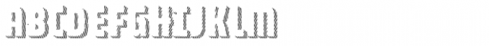 Combine Caps Shadow1 Font LOWERCASE
