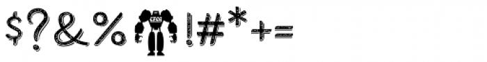 Combine Script Mix Font OTHER CHARS