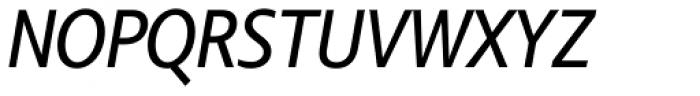 Comenia Sans Cond Italic Font UPPERCASE